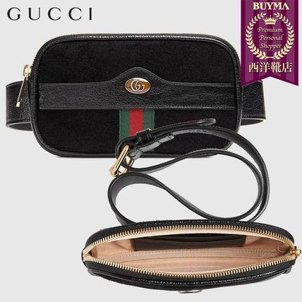 GUCCI スマホケース・テックアクセサリー 【正規品保証】GUCCI★18秋冬★OPHIDIA BELTED IPHONE CASE