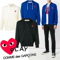 ● COMME des GARCONS PLAY ●新 Red Heart ジップ パーカ 3色
