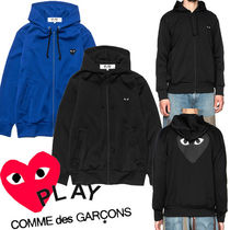 ● COMME des GARCONS PLAY ●新 両面 ハート ジップ パーカ 2色