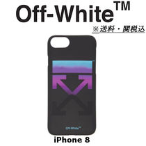 *特別セール OFF-WHITE Black Gradient iPhone 8 ケース 送関込