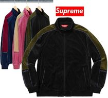 Supreme Velour Track Jacket 18 FW  WEEK 2