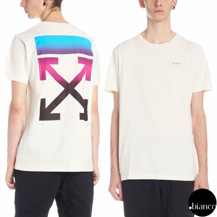 Off-White Tシャツ・カットソー 関税込OffWhite GRADIENT S/S Tシャツ ダイアゴナルアロー2018AW(6)