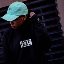 DOPE couture(ドープクチュール) Tシャツ・カットソー DOPE ×CHAMPION L/S TEE BLACK