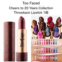 Too Faced 20周年記念限定 Throwback Lipstick 送料込