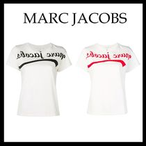 【18-19AW MARC JACOBS☆海外発】reverse ロゴ Tシャツ 2色