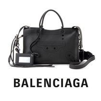 売り切れ注意☆Balenciaga☆ BLACKOUT CITY S 2wayバッグ NOIR♪