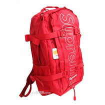 18FW Supremeシュプリーム Back Pack バックパック 赤 レッドred