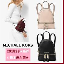 ◆MK◆Rhea Mini Leather Backpack