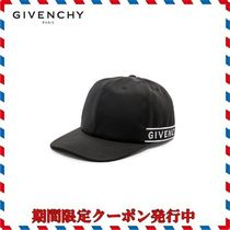 18AW新作◆GIVENCHY◆BPZ003P00Pブラックサイドロゴキャップ