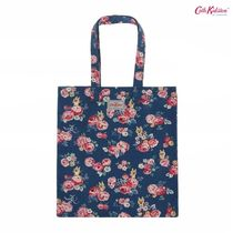 Cath Kidston × カカオフレンズ★WELLS ROSE COTTON BOOK BAG