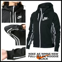 国内発送・正規品★NIKE AS W NSW FULL-ZIP PK HOODIE★BLACK