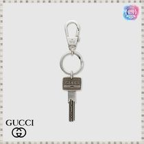 GUCCI(グッチ) キーケース・キーリング GUCCI ロゴ キーチェーン