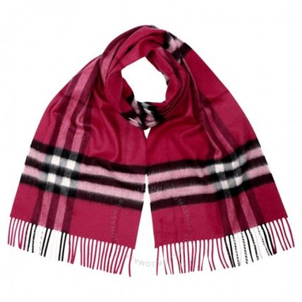 【Burberry】The Classic Cashmere Scarf ☆ピンク
