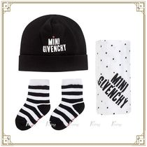 Givenchy Kids ★ 帽子/ハンカチ/靴下 3ピースギフトセット 白黒