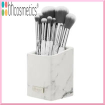 BH Cosmetics★White Marble ホルダー付ブラシ9本セット★国内発