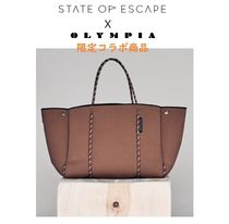 【State of Escape×OLYMPIA】限定コラボトート☆完売続出