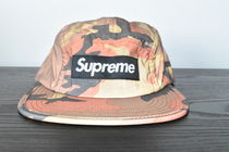 【AW18】Supreme(シュプリーム)REFLECTIVE CAMO CAMP CAP/ORANGE