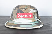 【AW18】Supreme(シュプリーム)REFLECTIVE CAMO CAMP CAP/WOOD