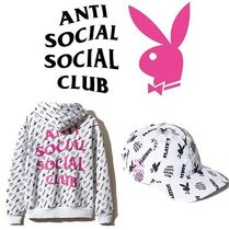 【セット】ANTISOCIAL SOCIALCLUB x playboy all over Cap&Hoody