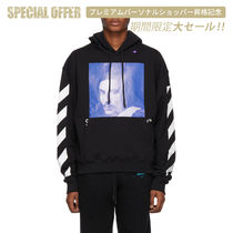 《 OFF-WHITE 》DIAG BERNINI OVER HOODIE フーディ パーカー 黒