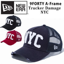 【即発】NEW ERA 9FORTY A-Frame NYC ダメージ キャップ DAMAGE