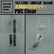【NEW】「SECOND UNIQUE NAME」 PVC CLEAR  正規品