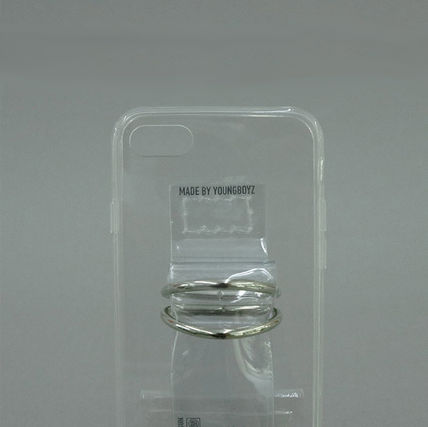 SECOND UNIQUE NAME スマホケース・テックアクセサリー 【NEW】「SECOND UNIQUE NAME」 PVC CLEAR  正規品(5)