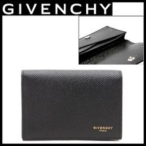 GIVENCHY_Goldロゴカードケース☆関税・送料込み☆