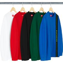 2 WEEK Supreme FW 18 Vertical Logo Stripe L/S Top