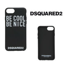 DSQUARED2☆BE COOL BE NICE iPhone 8 ケース ブラック
