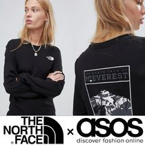 【THE NORTH FACE×ASOS】限定コラボデザイン!ロングスリーブT