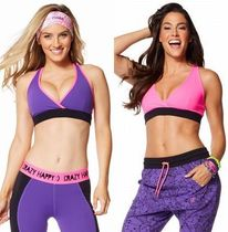XSサイズ☆ZUMBA・ズンバ☆Keep On Glowing Reversible V Bra