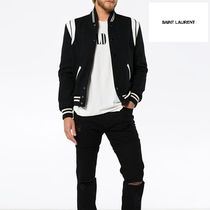 VIP価格【Saint Laurent】TEDDY BOMBER JACKET