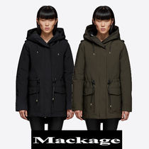 Mackage ALAIA 2in1リラックスフィットパーカー Army/Black