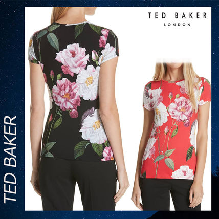 9ea4ca6bf7465 TED BAKER Tシャツ・カットソー TED BAKER Daleyza Iguazu Fitted Tee Tシャツ シャツ 半袖 ...