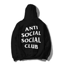 Anti Social Social Club Mind Games Hoodie 黒 パーカー