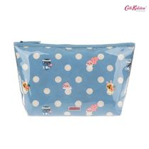 キャス × カカオフレンズ★BUTTON SPOT POLY LINED WASH BAG