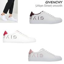 VIP価格!GIVENCHY Urban Street smooth leather sneakers ♪