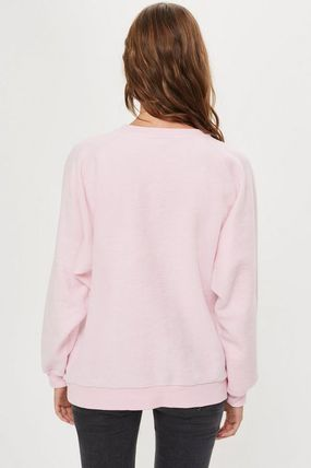 TOPSHOP マタニティトップス 【国内発送・関税込】TOPSHOP★Love Embroidered Sweatshirt(5)