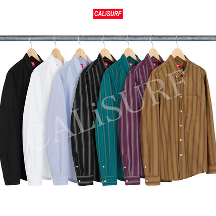 Supreme シャツ 【WEEK2】AW18 Supreme(シュプリーム)OXFORD SHIRTS /ALL COLOR