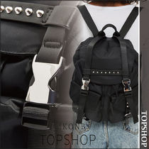 【国内発送・関税込】TOPSHOP★Bell Nylon Backpack