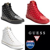 G BY GUESS(ジーバイゲス) スニーカー G BY GUESS(ジーバイゲス)★完売間近★HIGH-TOP SNEAKERS