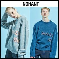 NOHANT(ノアン) ニット・セーター ☆NOHANT☆ ニット MADE IN SEOUL KNIT SWEATER (2color)