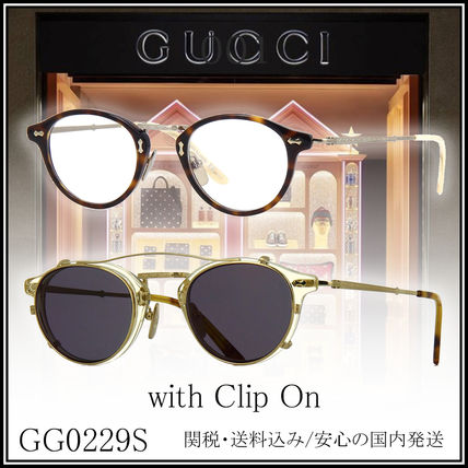 buyma 送料 関税込 gucci メガネ gg0229s with clip on 38150096