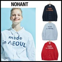 NOHANT(ノアン) ブラウス・シャツ ☆NOHANT☆ シャツ MADE IN SEOUL SHIRT   (4color) 男女兼用