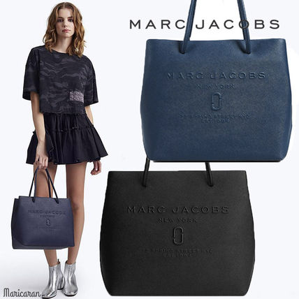 MARC JACOBS トートバッグ 【限定大特価!】MARC JACOBS/ Logo Shopper Ew Tote