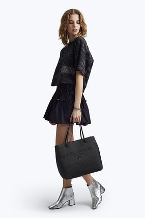 MARC JACOBS トートバッグ 【限定大特価!】MARC JACOBS/ Logo Shopper Ew Tote(17)