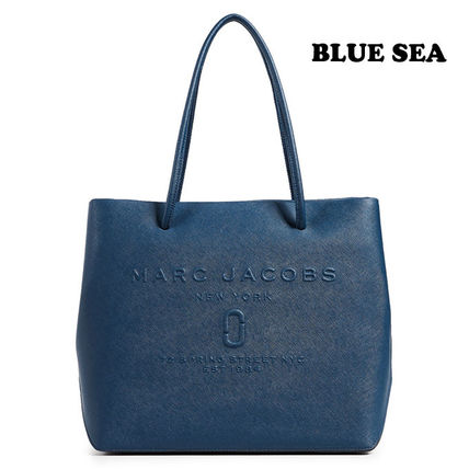 MARC JACOBS トートバッグ 【限定大特価!】MARC JACOBS/ Logo Shopper Ew Tote(9)