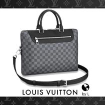 N48260【Louis Vuitton】ブリーフケース ダミエ・グラフィット
