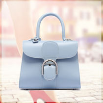 DELVAUX(デルボー) ハンドバッグ DELVAUX☆新作BRILLANT SKYWALK LEATHER SMALLバッグ